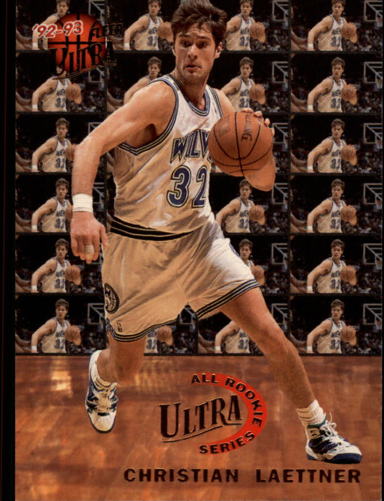 1992-93 Ultra All-Rookies #4 Christian Laettner