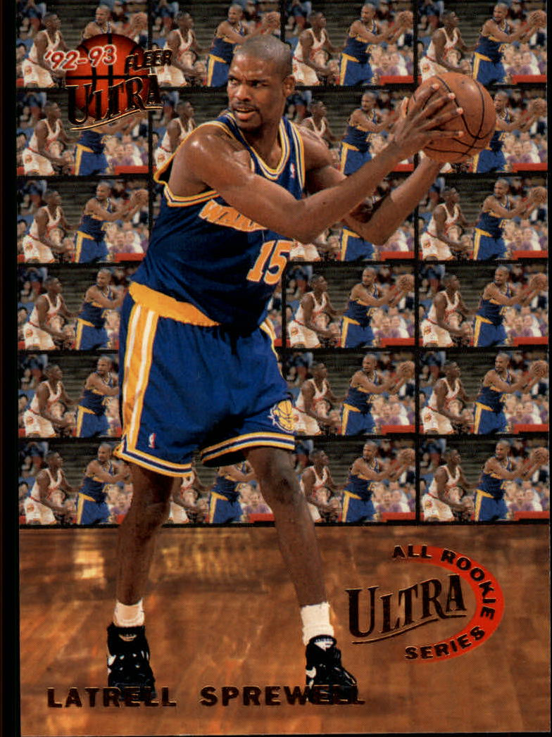 1992-93 Ultra All-Rookies #8 Latrell Sprewell