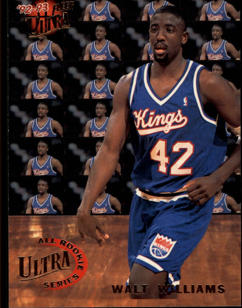 1992-93 Ultra All-Rookies #10 Walt Williams
