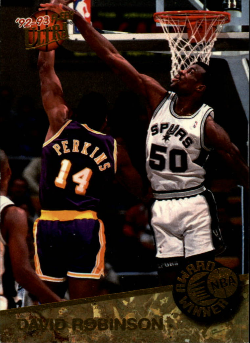1992-93 Ultra Award Winners #2 David Robinson