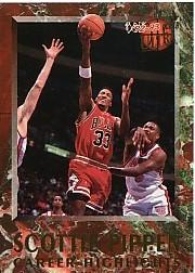 1992-93 Ultra Scottie Pippen #10 Scottie Pippen