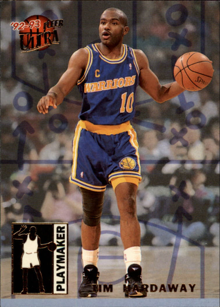 1992-93 Ultra Playmakers #3 Tim Hardaway
