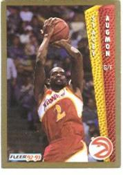 1992-93 Fleer #1 Stacey Augmon