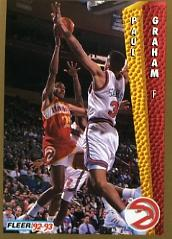 1992-93 Fleer #3 Paul Graham