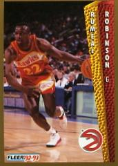 1992-93 Fleer #6 Rumeal Robinson