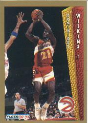 1992-93 Fleer #8 Dominique Wilkins