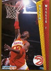 1992-93 Fleer #9 Kevin Willis