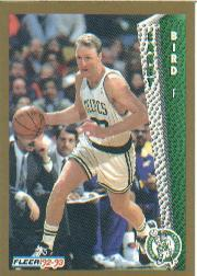 1992-93 Fleer #11 Larry Bird front image