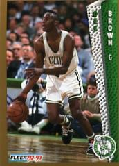 1992-93 Fleer #12 Dee Brown