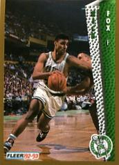 1992-93 Fleer #14 Rick Fox