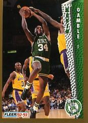 1992-93 Fleer #15 Kevin Gamble