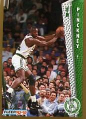 1992-93 Fleer #19 Ed Pinckney