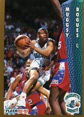 1992-93 Fleer #20 Muggsy Bogues