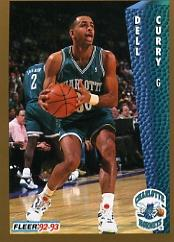 1992-93 Fleer #22 Dell Curry