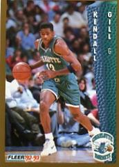 1992-93 Fleer #24 Kendall Gill