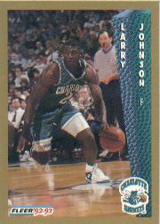 1992-93 Fleer #25 Larry Johnson