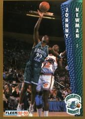 1992-93 Fleer #26 Johnny Newman