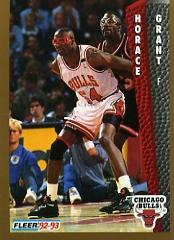 1992-93 Fleer #30 Horace Grant