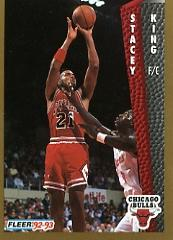 1992-93 Fleer #33 Stacey King