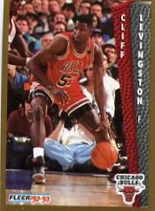 1992-93 Fleer #34 Cliff Levingston