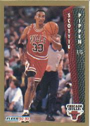 1992-93 Fleer #36 Scottie Pippen