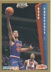 1992-93 Fleer #40 Brad Daugherty