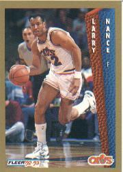 1992-93 Fleer #42 Larry Nance