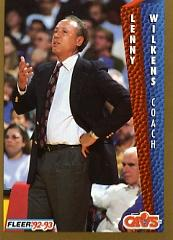 1992-93 Fleer #45 Lenny Wilkens CO