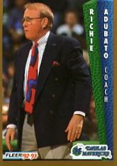 1992-93 Fleer #47 Richie Adubato CO