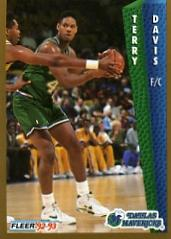 1992-93 Fleer #48 Terry Davis