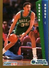 1992-93 Fleer #50 Donald Hodge