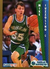 1992-93 Fleer #51 Mike Iuzzolino