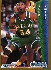 1992-93 Fleer #53 Doug Smith