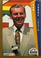 1992-93 Fleer #56 Dan Issel CO