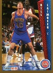 1992-93 Fleer #64 Bill Laimbeer