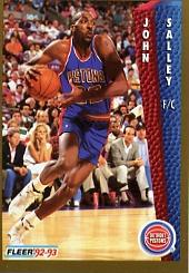 1992-93 Fleer #68 John Salley