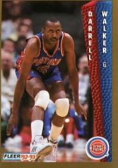 1992-93 Fleer #70 Darrell Walker