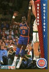 1992-93 Fleer #71 Orlando Woolridge