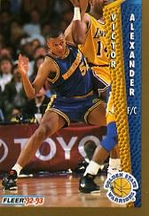 1992-93 Fleer #72 Victor Alexander