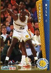 1992-93 Fleer #75 Tyrone Hill