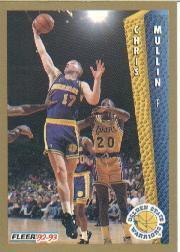 1992-93 Fleer #77 Chris Mullin