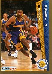 1992-93 Fleer #79 Billy Owens