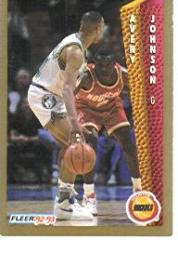 1992-93 Fleer #81 Avery Johnson