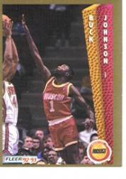 1992-93 Fleer #82 Buck Johnson