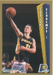 1992-93 Fleer #93 Detlef Schrempf