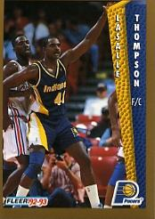 1992-93 Fleer #95 LaSalle Thompson