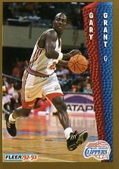 1992-93 Fleer #99 Gary Grant
