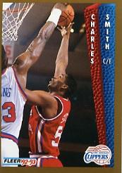 1992-93 Fleer #104 Charles Smith