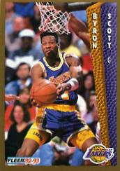 1992-93 Fleer #111 Byron Scott