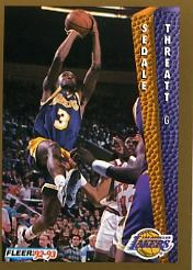 1992-93 Fleer #113 Sedale Threatt